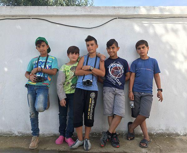Ahmed, Abudeh, Noor, Dolovan, Ziad.